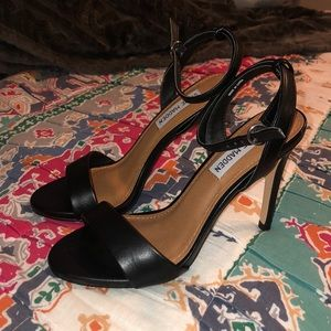 Black Steven madden heels